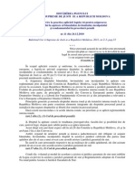 HP_CSJ_cu Privire La Aplicarea Legisl.pt Asig.dr.La Aparare