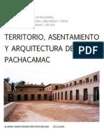 Territorio, Asentamiento y Arquitectura de Pachacamac