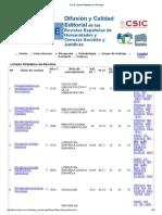 Listado de Revistas DICE