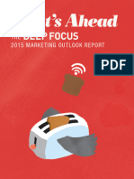 The Deep Focus 2015 Marketing Outlook Report