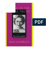Julia de Burgos Selected Poems