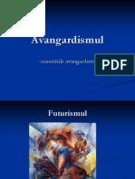 Avangardismul-orientarile avangardiste