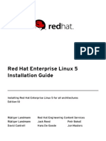 Red Hat Enterprise Linux 5 Installation Guide