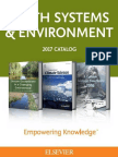 2017 Earth Systems and Environment Catalog