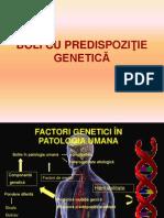Boli Cu Predispozitie Genetica