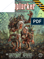 Scraplurker COTA6 the Mutant Epoch RPG