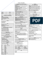 COMPTIA Security+ cheat sheet
