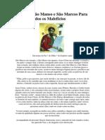 Oração a São Manso e São Marcos Para livrar de todos os Malefícios.docx