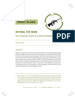 Dying To Win The Strategic