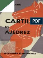 Cartilla de Ajedrez Lecciones Elementales Lezcano