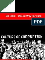 Biz India - Ethical Way Forward