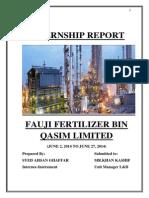Internship Report FFBL