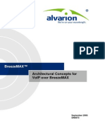 Architectural Concepts for VoIP Over B-MAX