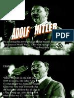 Adolf Hitler presentation ENGLISH