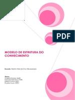 MEC- Modelo de Estrutura de Conhecimentos