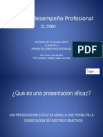 Clase Nº 6 Presentaciones Profesionales