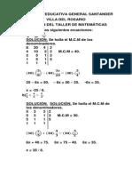 Colgesan. Soluc.taller de Matematicas 08.