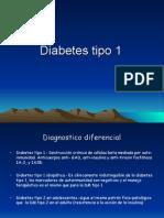 Diabetes Tipo 1 tratamientos
