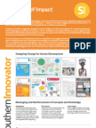 Southern Innovator Summary of Impact 2011 to 2012