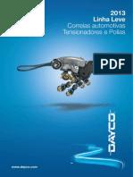 Catalogo de correasDayco Leve 2013 Rev D Abr-13