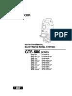 TopCon GTS600