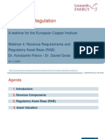 Regulated Asset Base