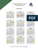 01. Calendário IMS UFBA 2015 - Com Feriados