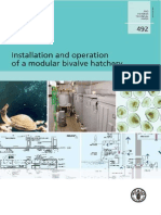 Installation and Operation of a Modular Bivalve Hatchery