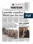 Haiti-Observateur 7 janvier 2015