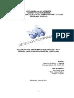 Tesis - Contrato de Arrendamiento a Casco Desnudo