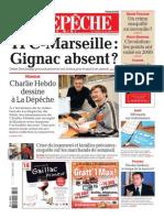 Quand Charlie Hebdo illustrait La Dépêche