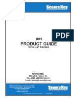 Securakey List Price Book- 2015