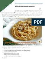 Blog.giallozafferano.it-spaghetti Alle Acciughe e Pangrattato Con Pecorino