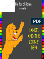 Daniel and the Lions Den English
