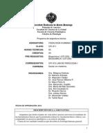 Programa de Fisiologia Humana  Cfi-311