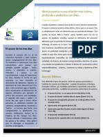 Newsletter Sobre El Ayuno