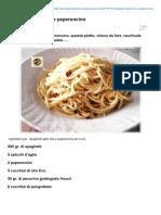 Blog.giallozafferano.it-spaghetti Aglio Olio e Peperoncino