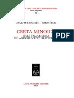 Creta Minoica Sulle Tracce Delle Scritture Piu' Antiche d'Europa