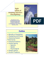 Intoduction to Daylighting