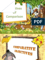 Adjectives of Comparison