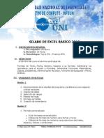 3 Silabo de Excel Basico 2013
