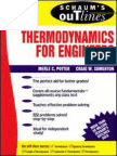 Schaum s Thermodynamics for Engineers