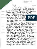 Jon Benet Ramsey Ransom Note