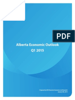 Alberta Economic Outlook Q1 2015