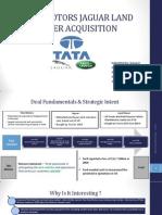 TATA JLR Deal