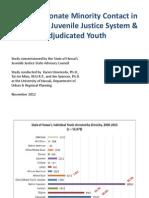 dmc juvenile justice powerpoint - oahu focus
