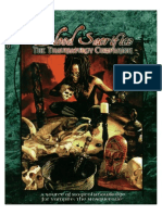 WOD - Vampire - The Masquerade - Blood Sacrifice - The Thaumaturgy Companion