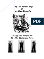 Chang TienCh'ang Tien Temple Style Of Tiger Claw Kung-Fu Temple Tiger Claw Kungfu