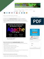 Autenticación Apache