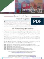 Supervisor Tang's January Newsletter